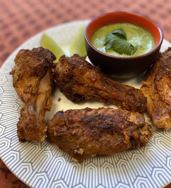 Ailes de poulet Tandoori