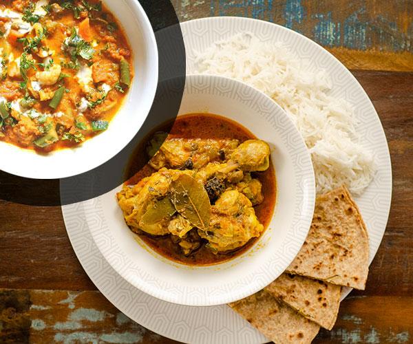DUO Poulet curry et légumes curry