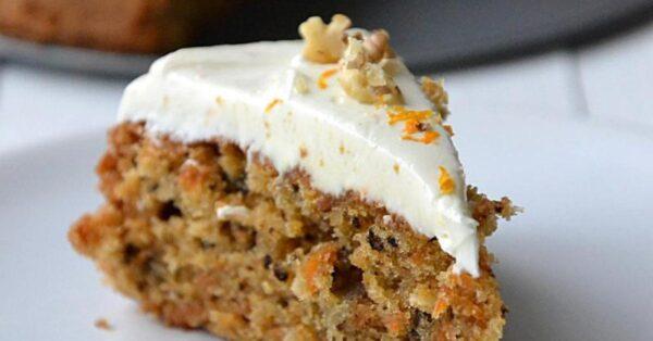 gâteau aux carottes épicés